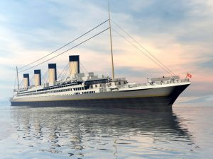 fine marine paintings of the titanic